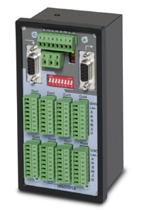 GV460 Encoder Splitter: 8 OUTPUTS, single potential separation between input and the outputs