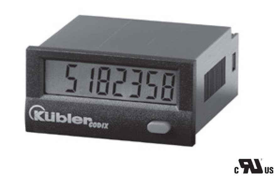 SELF POWERED LCD COUNTER FOR CONTACT CLOSURE OR NPN OPERATION